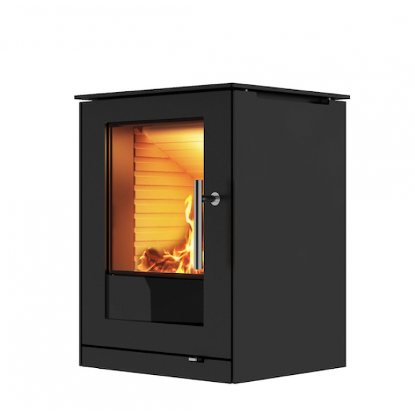 Q-Tee Black, 57cm Steel Framed Door RRP £1350